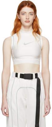 Nike White Ambush Edition NRG Crop Tank Top