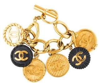 Chanel CC Charm Bracelet