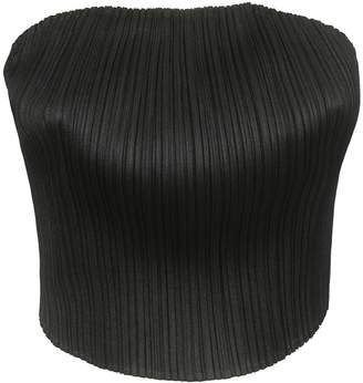 c492d090b58ec Pleats Please Issey Miyake Strapless Pleated Crop-top
