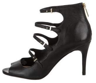 Karl Lagerfeld Bette Peep-Toe Pumps