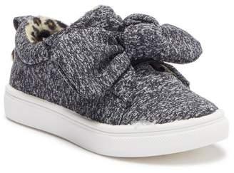 Nicole Miller Jersey Slip-On Sneaker (Toddler)