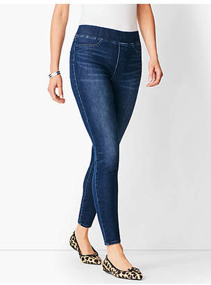Talbots Sculpt Pull-On Denim Jegging - Oleander Wash
