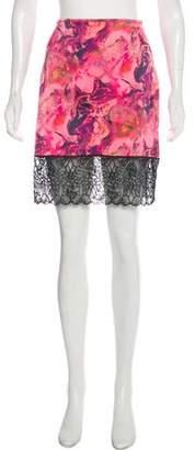 Marques Almeida Marques' Almeida Printed Mini Skirt