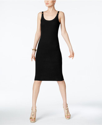 MICHAEL Michael Kors Ribbed Bodycon Midi Dress $98 thestylecure.com