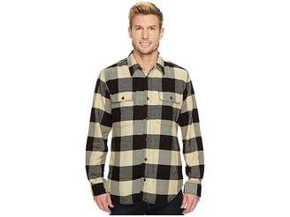 Filson Vintage Flannel Work Shirt Men's Clothing