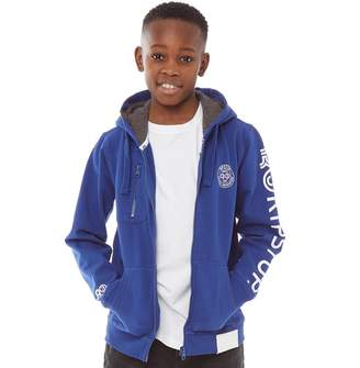 2f2a192c2e6369 Ripstop Junior Boys Ledley Hoodie Maz Blue