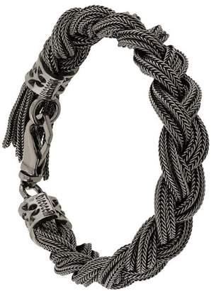 Emanuele Bicocchi braided chain bracelet
