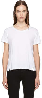 Amo White Twist T-Shirt