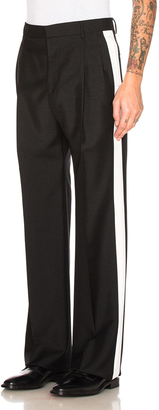 Givenchy Contrast Stripe Trousers $1,090 thestylecure.com