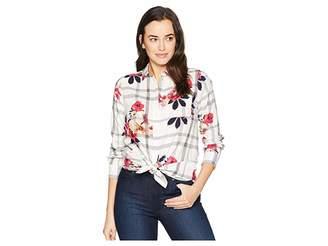 Joules Lorena Longline Brushed Cotton Shirt