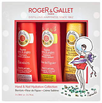 Roger & Gallet Spring Hand & Nail Hydration Set, 3 x 30ml