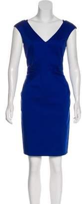 Emilio Pucci V-Neck Knee-Length Dress