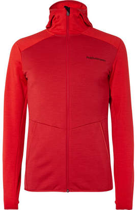 Peak Performance Helo Fleece-Back Jersey Jacket
