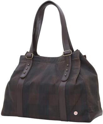 Token Crescent Waxed Tote Bag