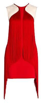 Stella McCartney Women's Fringe Trim Mini Dress