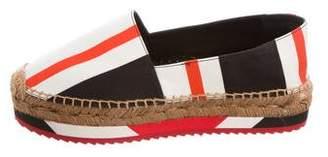Dolce & Gabbana Fabric Striped Espadrilles