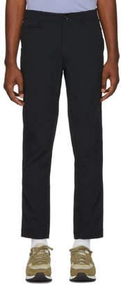 Nanamica Black Club Trousers