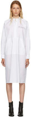 Maison Margiela White Parachute Poplin Dress