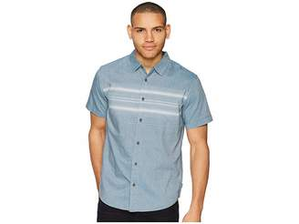 O'Neill Lariat Short Sleeve Woven Top Men's Clothing