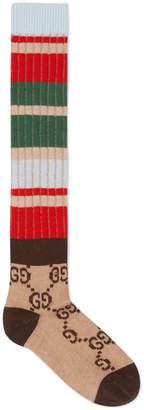 Gucci GG striped wool socks