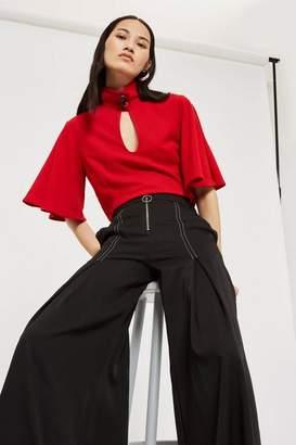 Style Mafia Wide leg zip pants