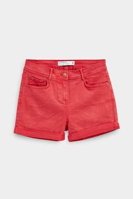 Next Womens Red Soft Touch Shorts