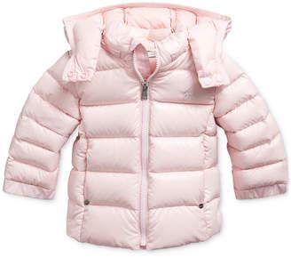 Polo Ralph Lauren Baby Girl Hooded Down Jacket
