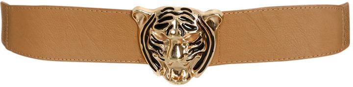 Arden B Leopard Buckle Waist Belt