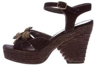 Castaner Embellished Platform Sandals
