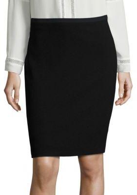 Elie Tahari Bennet Crepe Pencil Skirt $198 thestylecure.com