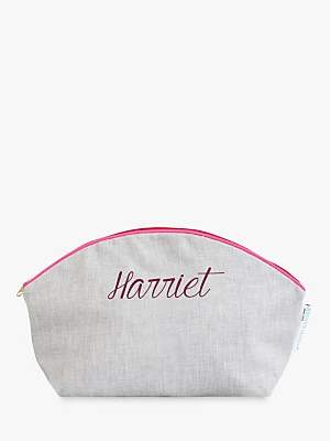 Jonny's Sister Personalised Makeup Bag, Large
