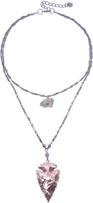 Nakamol Design Two Layer Pyrite Necklace