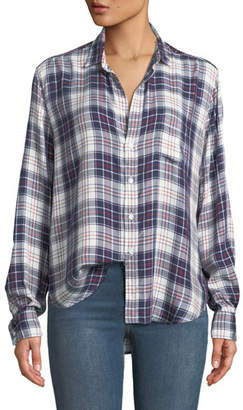 Frank And Eileen Eileen Plaid Long-Sleeve Button-Down Top