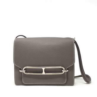 Hermes Roulis leather crossbody bag