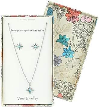 Vera Bradley Womens Sparkling Star Earring Jewelry Set