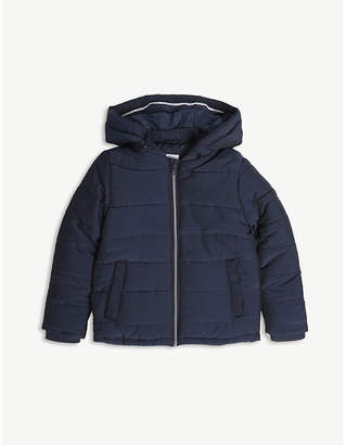 BOSS Logo quilted jacket 4-16 years