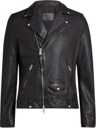 AllSaints Men's Milo Leather Biker Jacket