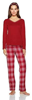 Nautica Women's Packaged Knit Pajama Set