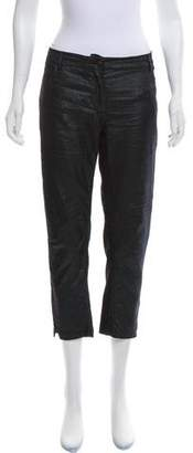 Ann Demeulemeester Cropped Mid-Rise Pants