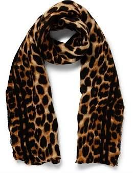 Gregory Ladner Leopard Print Wrap