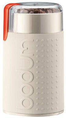 Bodum NEW Bistro Electric Coffee Grinder 11160 Off White