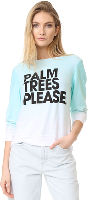 Wildfox Palm Trees Please $108 thestylecure.com