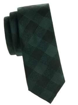 Valentino Silk Checker Tie