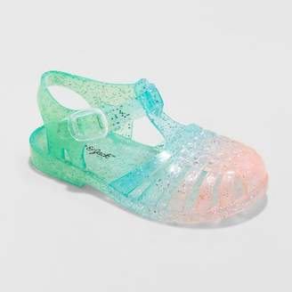 Cat & Jack Toddler Girls' Fleur Jelly Fisherman Sandals