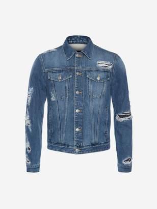 Alexander McQueen Japanese Selvedge Denim Jacket