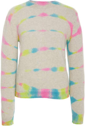 The Elder Statesman Prism Dyed Simple Cashmere Sweater