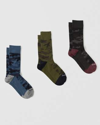 Abercrombie & Fitch 3-Pack Casual Socks