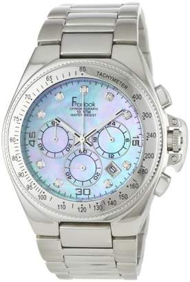 Freelook Women's HA5303M-6P Aquamarina II Stainless Steel with Mother of Pearl Dial Swarovski Indexes Watch