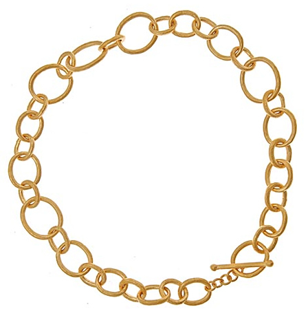 Evelyn Knight Large Link Necklace