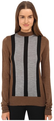 Vera Wang Merino Wool Mock Turtle Neck $595 thestylecure.com